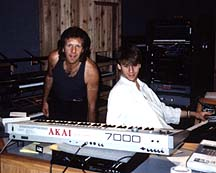 Kevin Gilbert with Keith Emerson